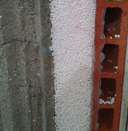 Murs creux injectés