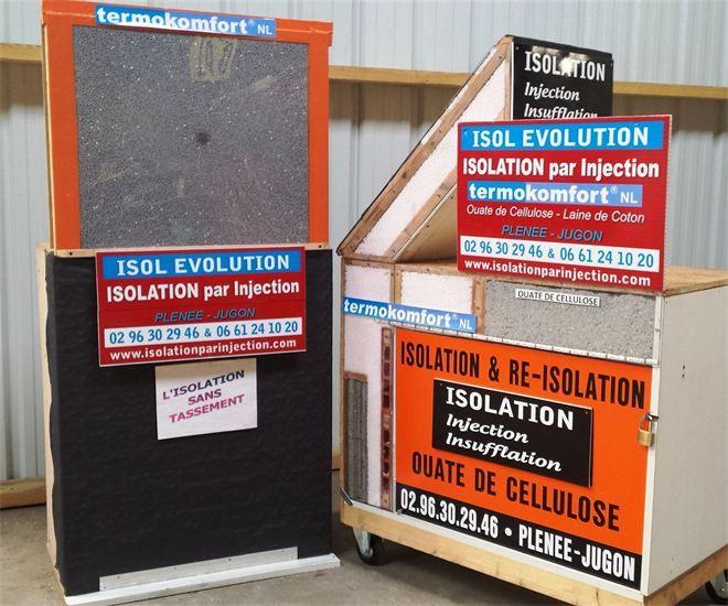 Matériaux d'isolation